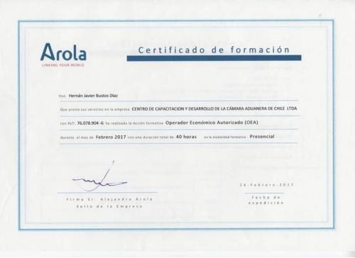 Certificado-OEA-Arola